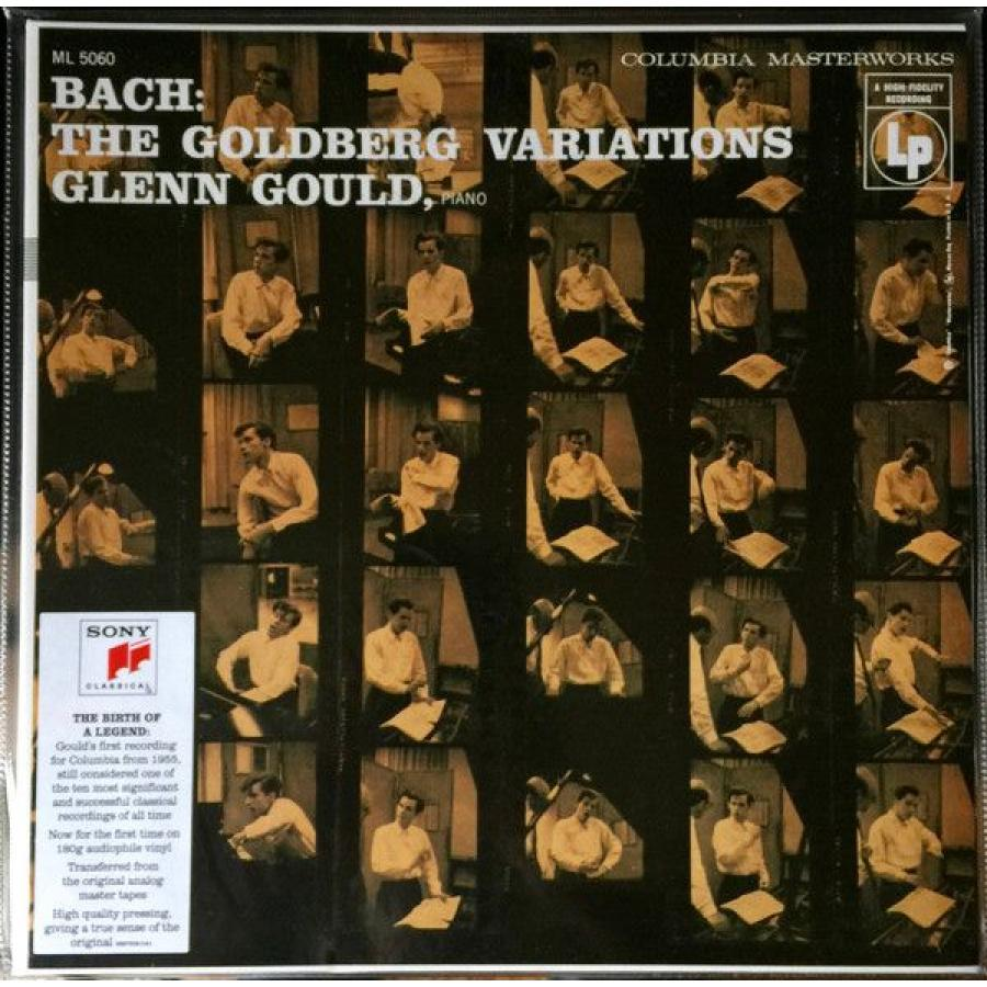 Виниловая пластинка Gould, Glenn, Goldberg Variations, Bwv 988 (1955 Recording) цена и фото