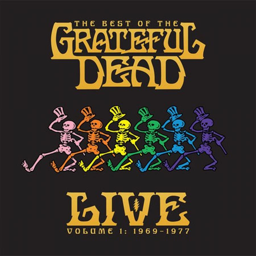 Виниловая пластинка Grateful Dead, The Best Of The Grateful Dead Live Volume 1: 1969-1977 grateful dead grateful dead the best of the grateful dead vol 2 1977 1989 2 lp