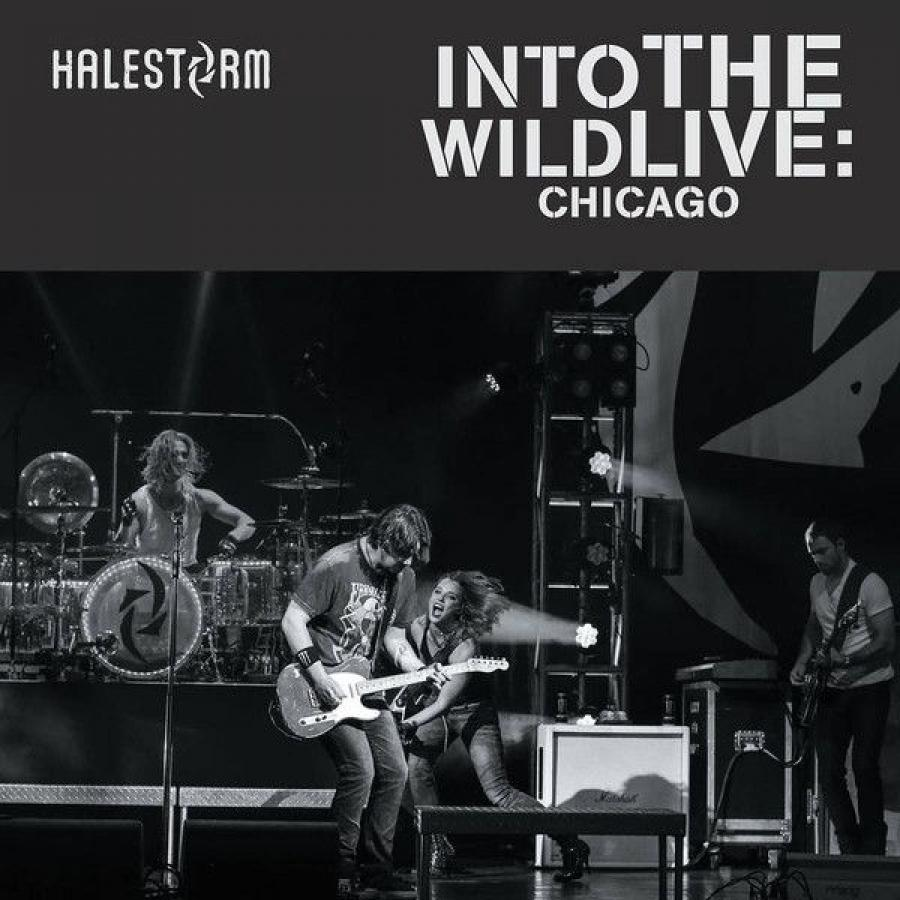 Виниловая пластинка Halestorm, Into The Wild Live: Chicago (Remastered)