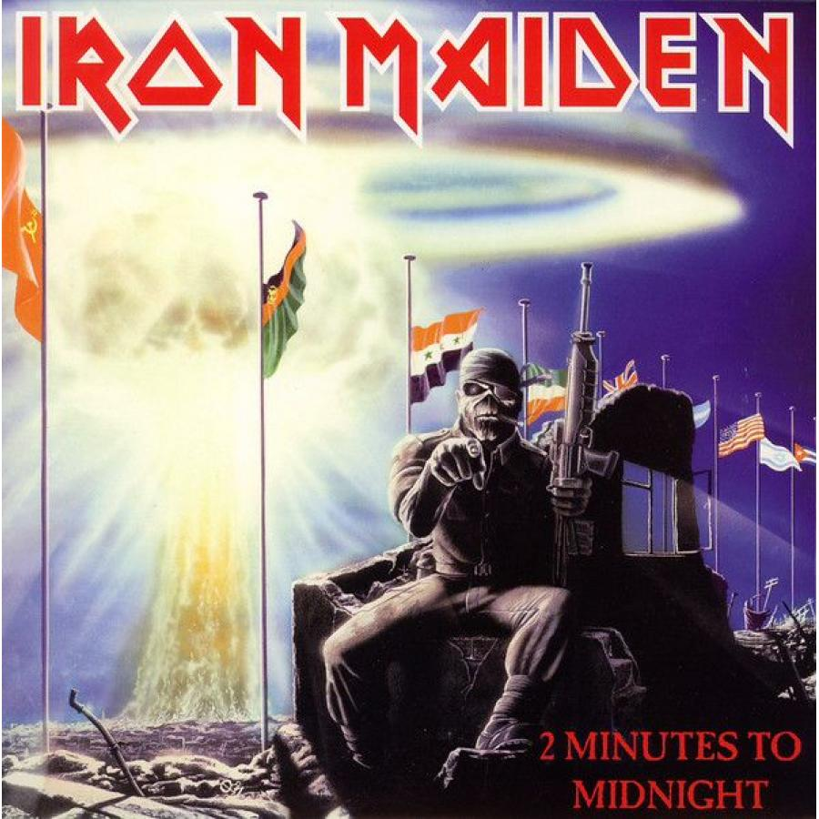 Виниловая пластинка Iron Maiden, 2 Minutes To Midnight (Limited)