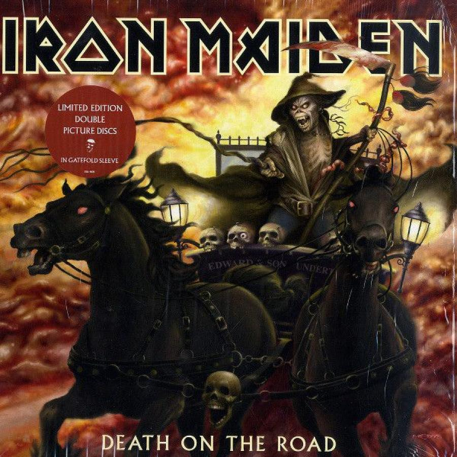 Виниловая пластинка Iron Maiden, Death On The Road (Remastered) cd iron maiden death on the road live