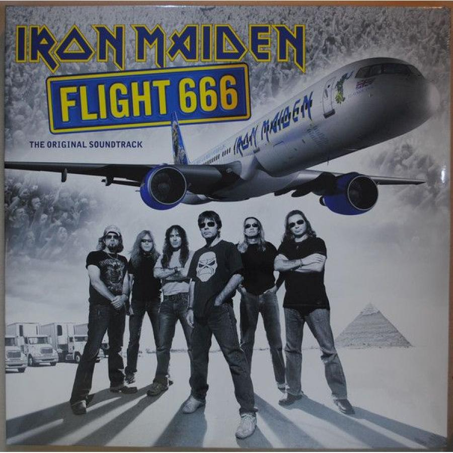 Виниловая пластинка Iron Maiden, Flight 666 (0190295851941) iron maiden iron maiden flight 666 the film 2 lp