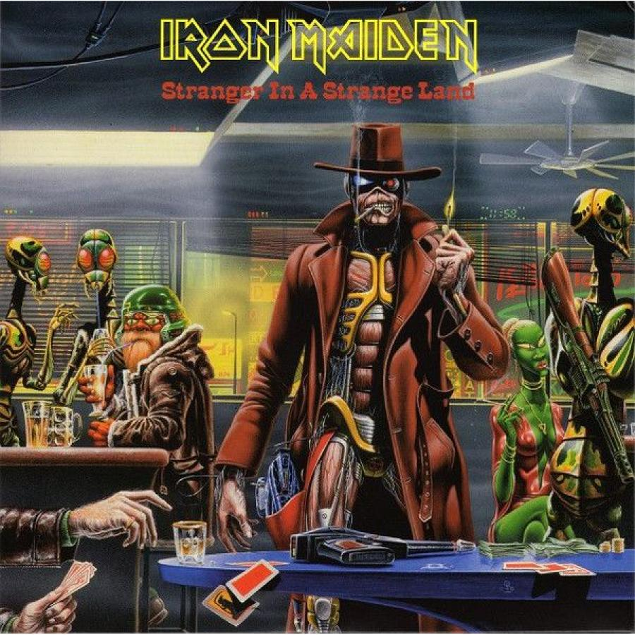 Виниловая пластинка Iron Maiden, Stranger In A Strange Land (Limited) виниловая пластинка iron maiden a matter of life and death