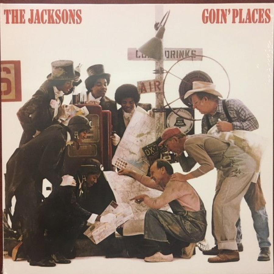 Виниловая пластинка Jacksons, The, Goin Places all the bright places