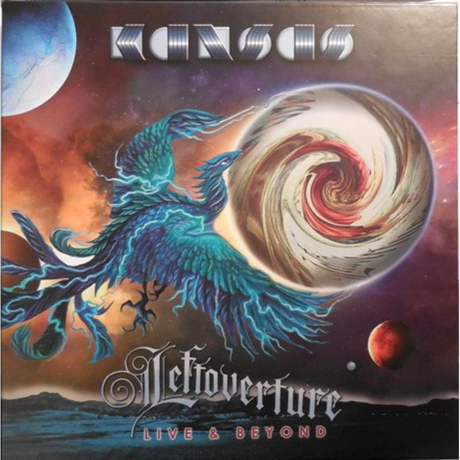 Виниловая пластинка Kansas, Leftoverture Live and Beyond (4LP, 2CD, Limited Deluxe Box Set)
