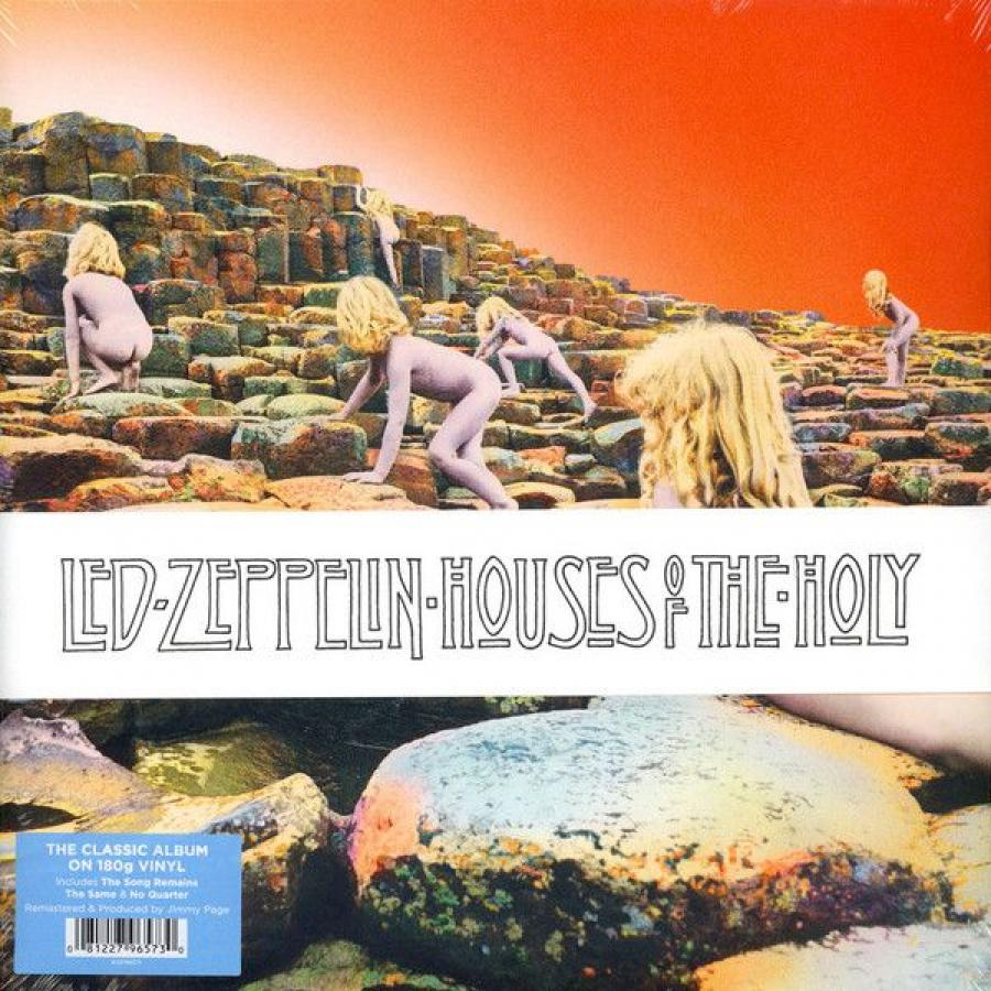 Виниловая пластинка Led Zeppelin, Houses Of The Holy (Remastered) led zeppelin – how the west was won 4 lp