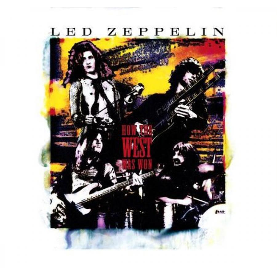 Виниловая пластинка Led Zeppelin, How The West Was Won (4LP, 3CD, DVD, Deluxe Box Set)