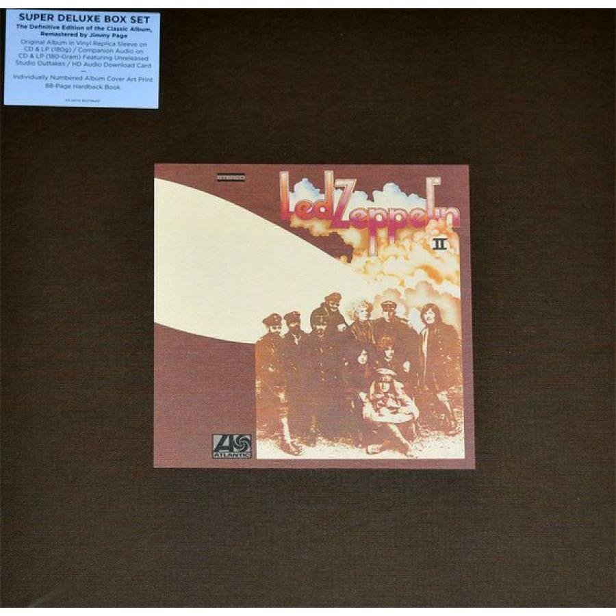 Виниловая пластинка Led Zeppelin, Led Zeppelin Ii (2LP, 2CD, Deluxe Box Set, Remastered) виниловая пластинка parton dolly ronstadt linda harris emmylou trio ii original album