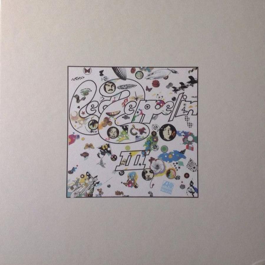 Виниловая пластинка Led Zeppelin, Led Zeppelin Iii (2LP, 2CD, Deluxe Box Set, Remastered)