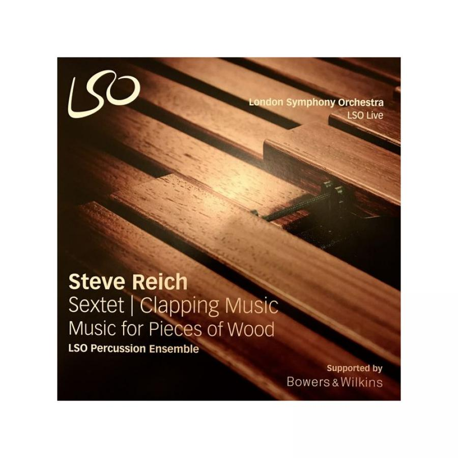 Виниловая пластинка Lso Percussion Ensemble, Reich: Sextet/Clapping Music (LP) printio mikimouse music records