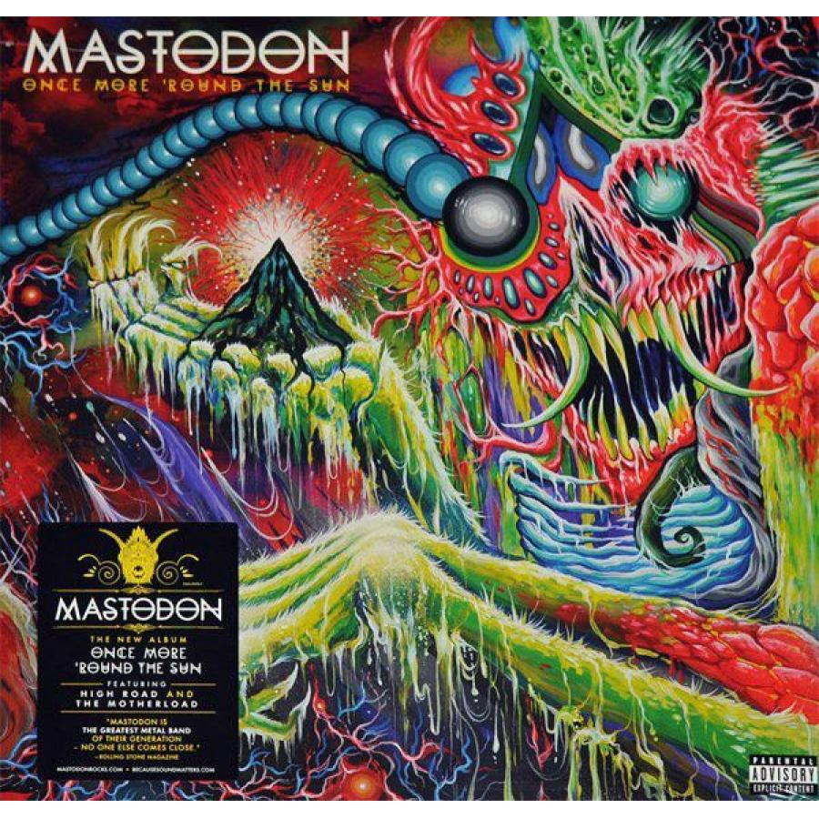 Виниловая пластинка Mastodon, Once More 'Round The Sun cd mastodon once more round the sun