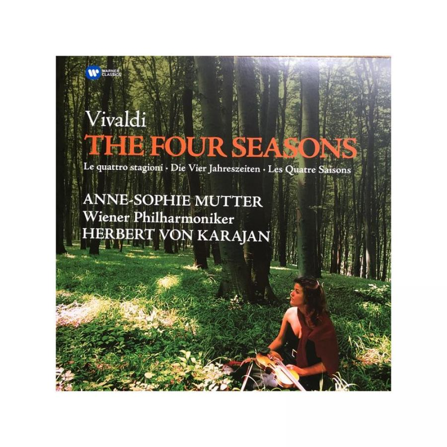 Виниловая пластинка Mutter, Anne-Sophie / Karajan, Herbert Von / Wiener Philharmoniker, Vivaldi: The Four Seasons vivaldi vivaldinigel kennedy the four seasons