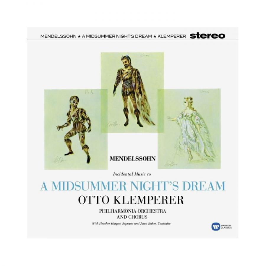 Виниловая пластинка Otto Klemperer, Mendelssohn: A Midsummer Night риккардо шайи gewandhausorchester leipzig салим ашкар riccardo chailly saleem ashkar mendelssohn a midsummer night s dream piano concertos nos 1