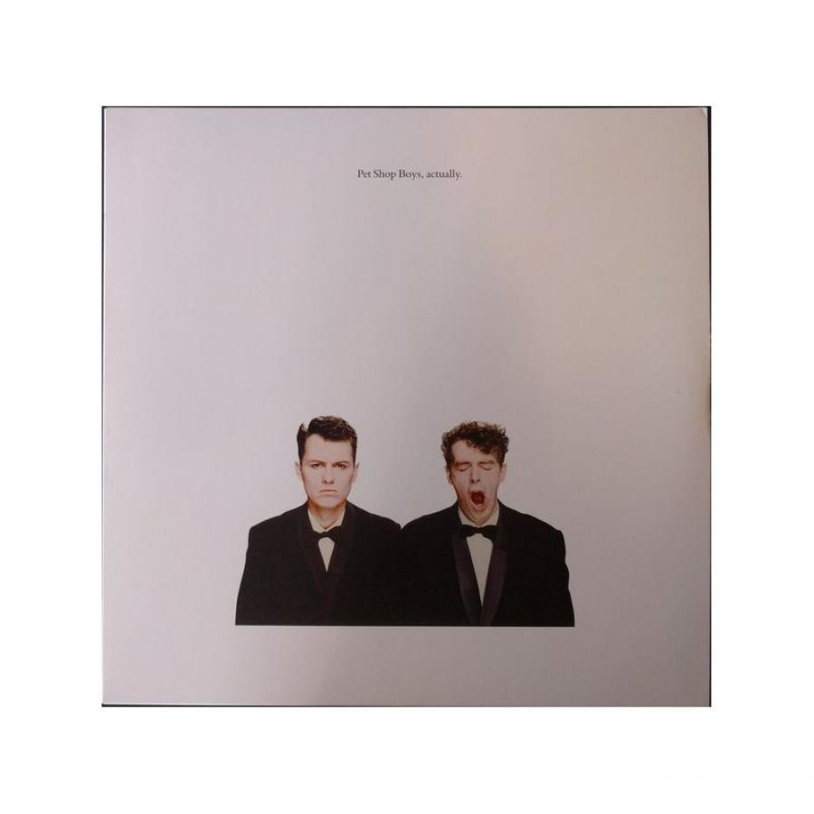 Виниловая пластинка Pet Shop Boys, Actually (Remastered) (0190295832612) transparent human heart anatomical model life size detachable with base plastic made medical teaching tool pnatomy
