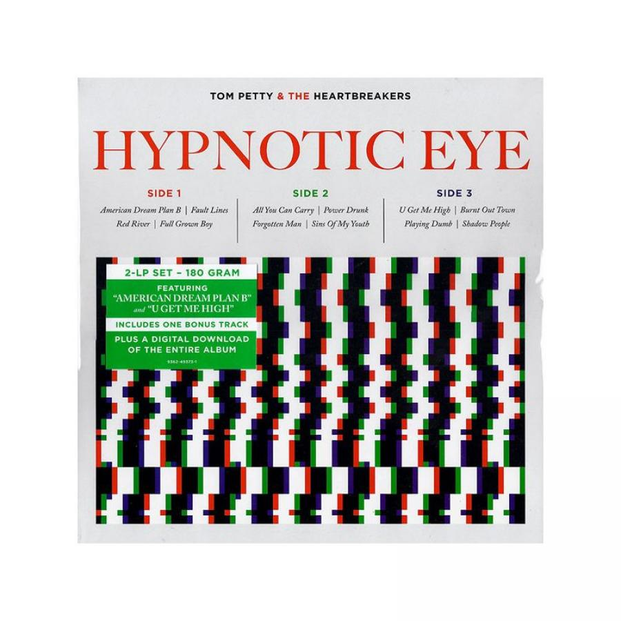 Виниловая пластинка Petty, Tom / Heartbreakers, The, Hypnotic Eye (Limited) tom petty tom petty heartbreakers songs and music from the motion picture she s the one