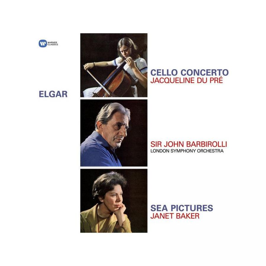 Виниловая пластинка Pre, Jacqueline Du / Baker, Janet / Barbirolli, Sir John / London Symphony Orchestra, Elgar: Cello Concerto, Sea Pictures b godard 2 morceaux for cello and orchestra op 36