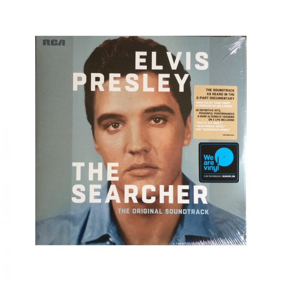 Фото - Виниловая пластинка Presley, Elvis, The Searcher (OST) (0190758097411) виниловая пластинка presley elvis royal philharmonic orchestra the if i can dream 0888751408418
