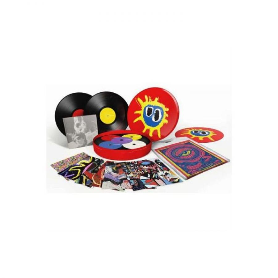 Виниловая пластинка Primal Scream, Screamadelica (20Th Anniversary) (2LP, 4CD, DVD, Box Set, Remastered) cinderella in concert remastered edition dvd cd