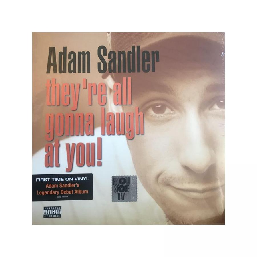Виниловая пластинка Sandler, Adam, They'Re All Gonna Laugh At You! (Limited)