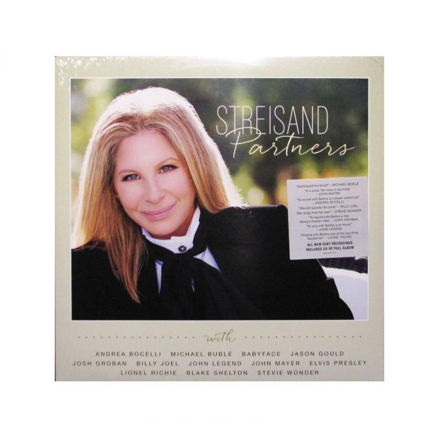 Виниловая пластинка Streisand, Barbra, Partners (2LP, CD) partners