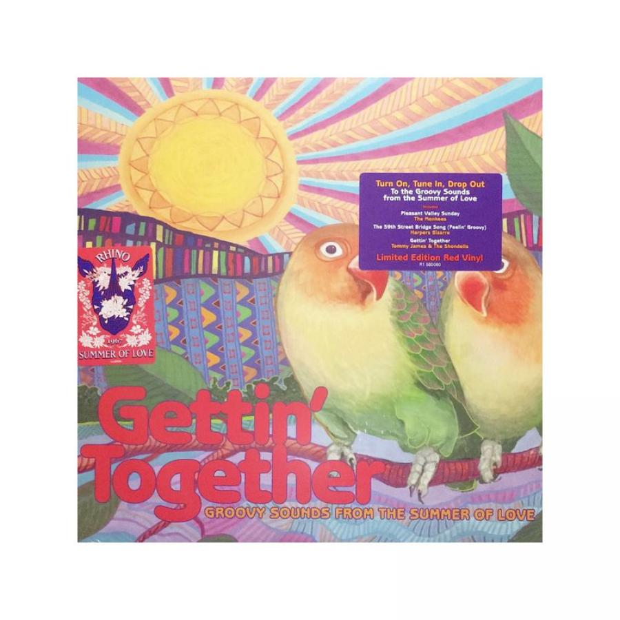 лучшая цена Виниловая пластинка Various Artists, Gettin' Together: Groovy Sounds Of The Summer Of Love
