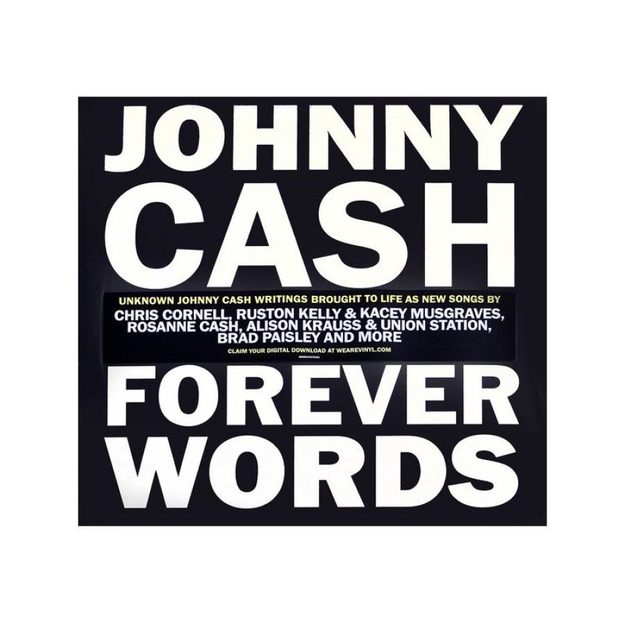 Виниловая пластинка Various Artists, Johnny Cash: Forever Words виниловая пластинка various artists john morales presents the m