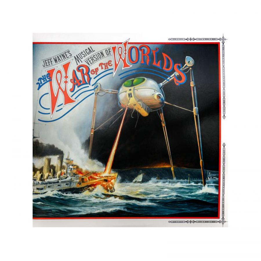 Виниловая пластинка Wayne, Jeff, Jeff WayneS Musical Version Of The War Of The Worlds max reger the responsories musical setting