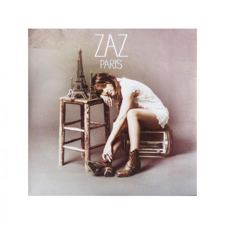 Виниловая пластинка Zaz, Paris zaz zaz recto verso 2 lp colour