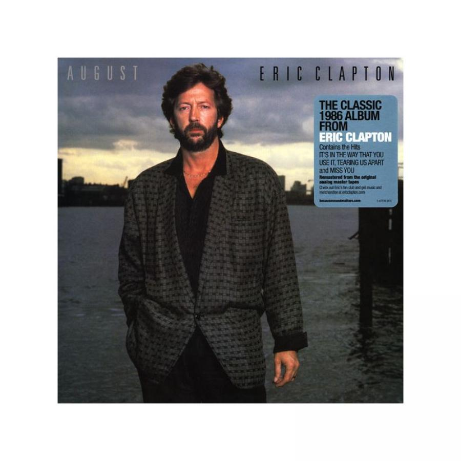 Виниловая пластинка Clapton, Eric, August eric clapton eric clapton behind the sun 2 lp