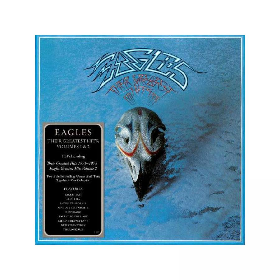 Виниловая пластинка Eagles, Their Greatest Hits Volumes 1 & 2 female vocal club hits 2 cd