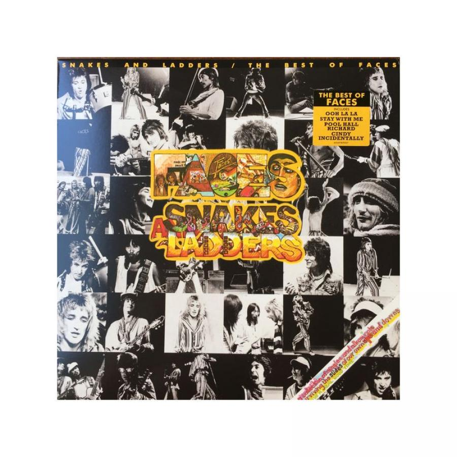 Виниловая пластинка Faces, Snakes And Ladders / The Best Of (603497859207)