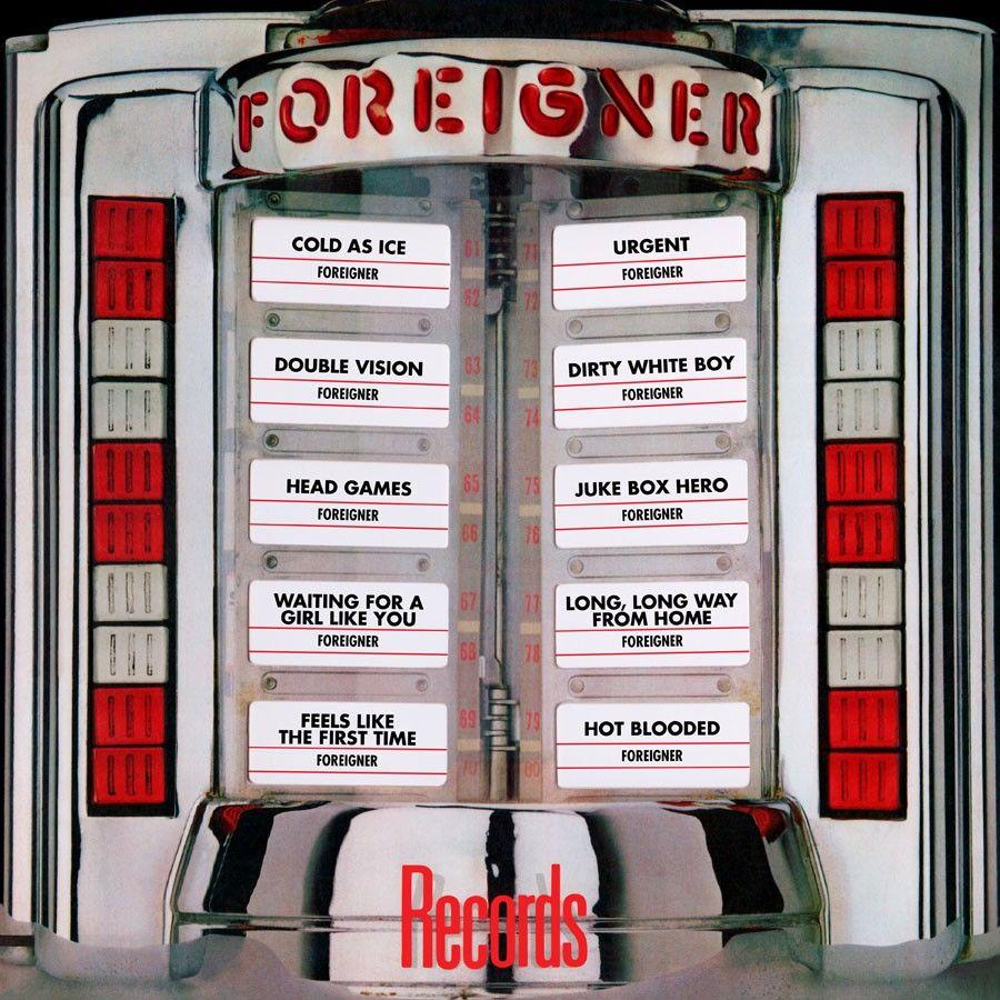 Виниловая пластинка Foreigner, Records foreigner foreigner 40