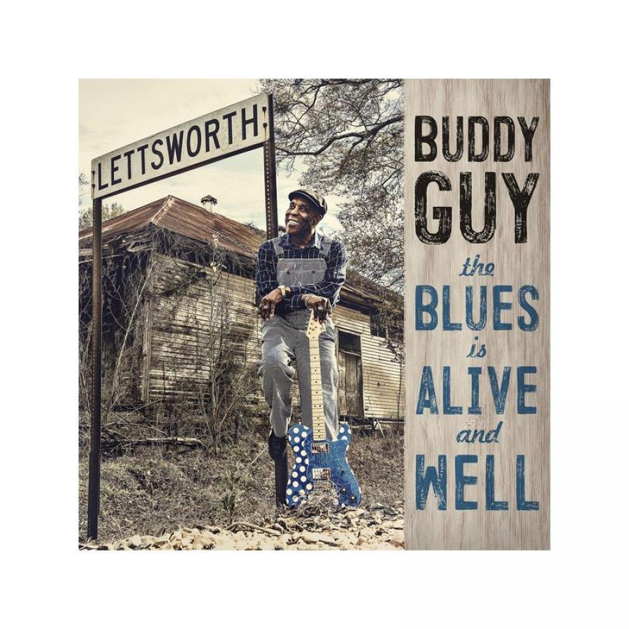 Виниловая пластинка Guy, Buddy, The Blues Is Alive And Well buddy guy live at legends blue white split color vinyl