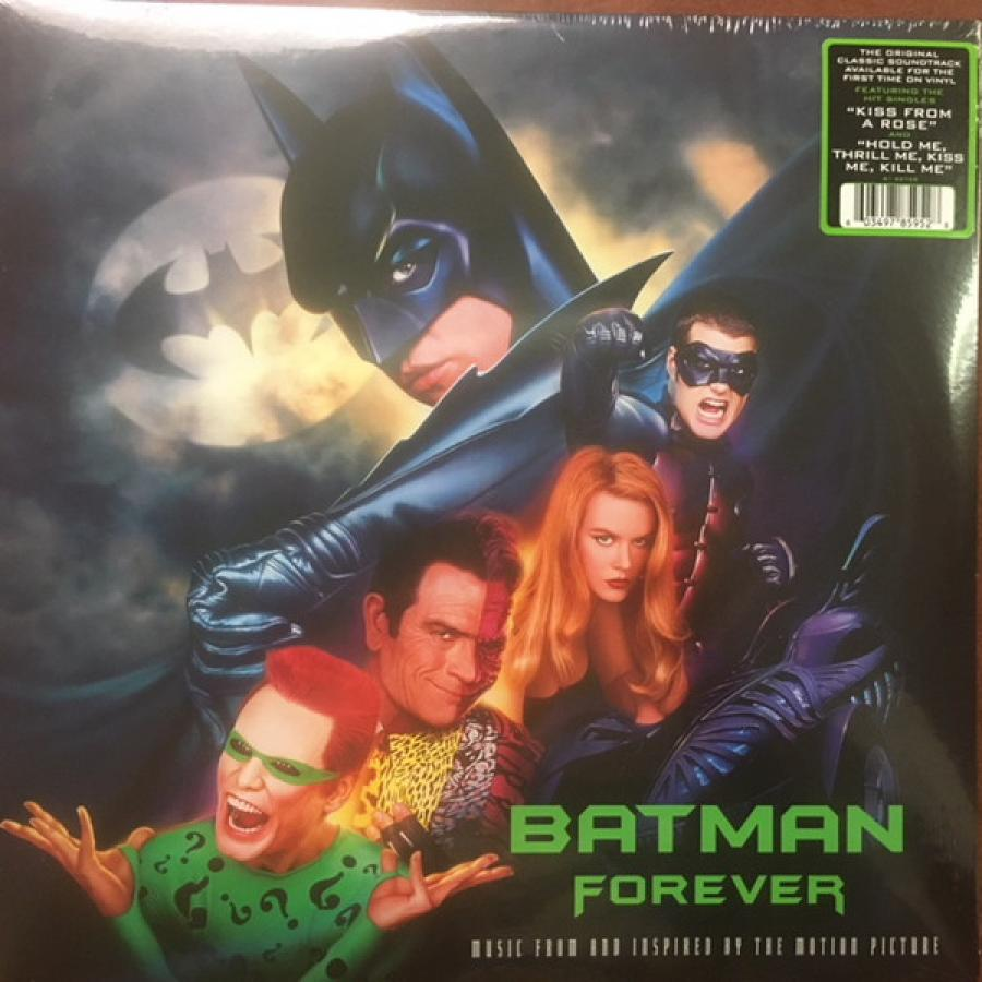 Виниловая пластинка Ost, Batman Forever футболка wearcraft premium printio merry christmas