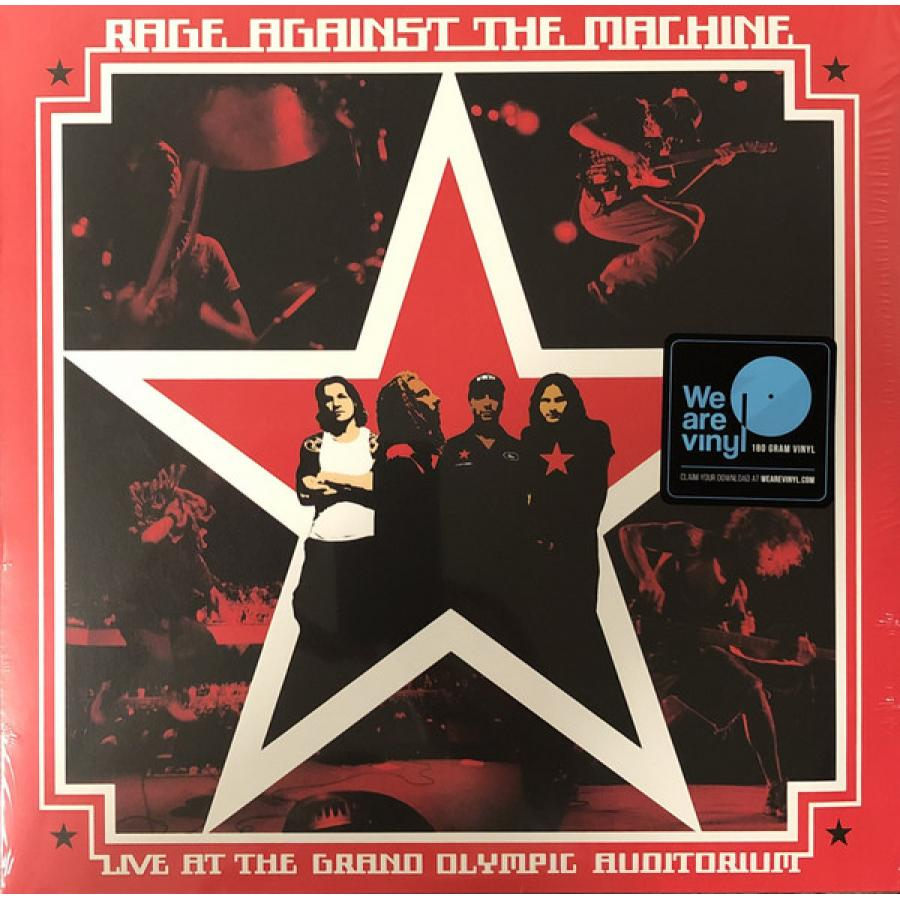 Виниловая пластинка Rage Against The Machine, Live At The Grand Olympic Auditorium серьги page 7