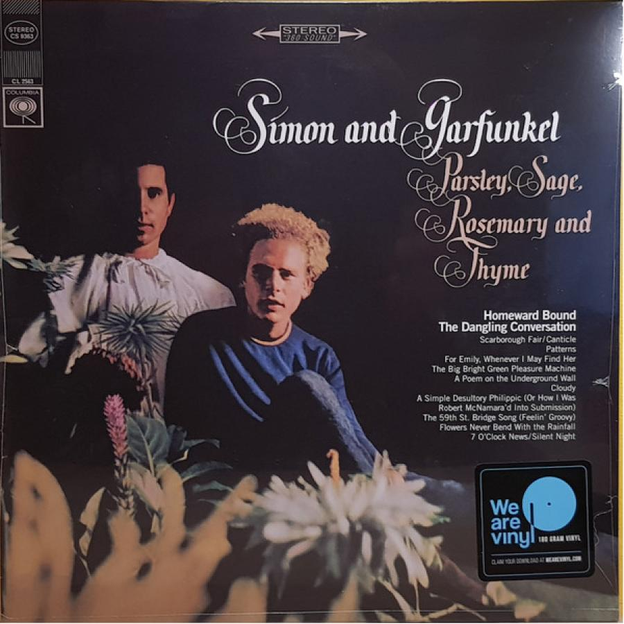Виниловая пластинка Simon & Garfunkel, Parsley, Sage, Rosemary And Thyme thyme out