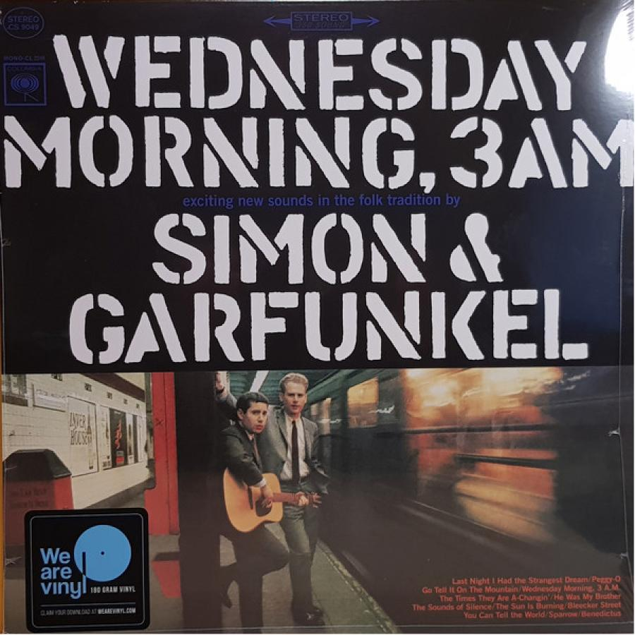 Виниловая пластинка Simon & Garfunkel, Wednesday Morning, 3 A.M. simon garfunkel simon garfunkel the concert in central park 2 lp