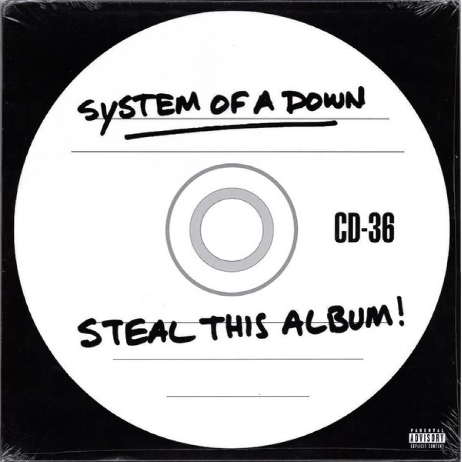 Виниловая пластинка System Of A Down, Steal This Album! son of a gun original soundtrack album music by jed kurzel
