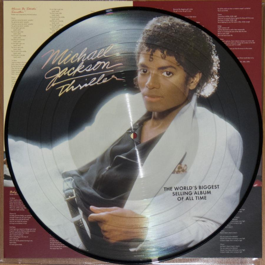 Виниловая пластинка Jackson, Michael, Thriller, Limited cd michael jackson thriller 25
