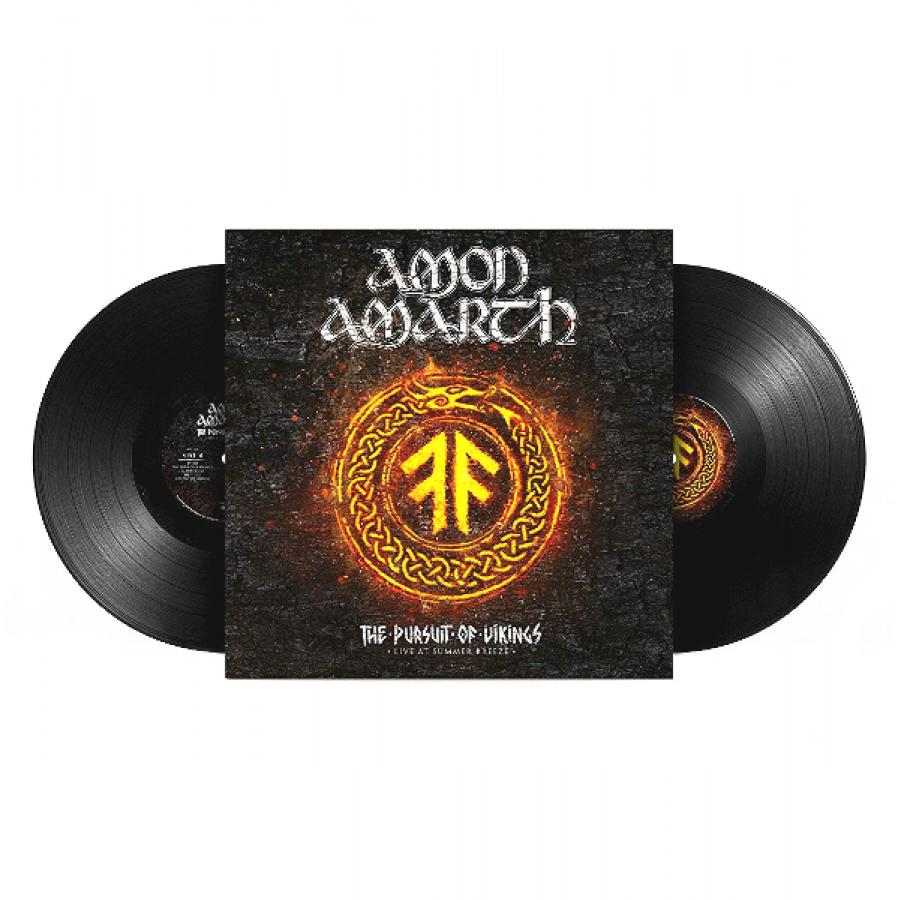 лучшая цена Виниловая пластинка Amon Amarth, The Pursuit Of Vikings: 25 Years In The Eye Of The Storm