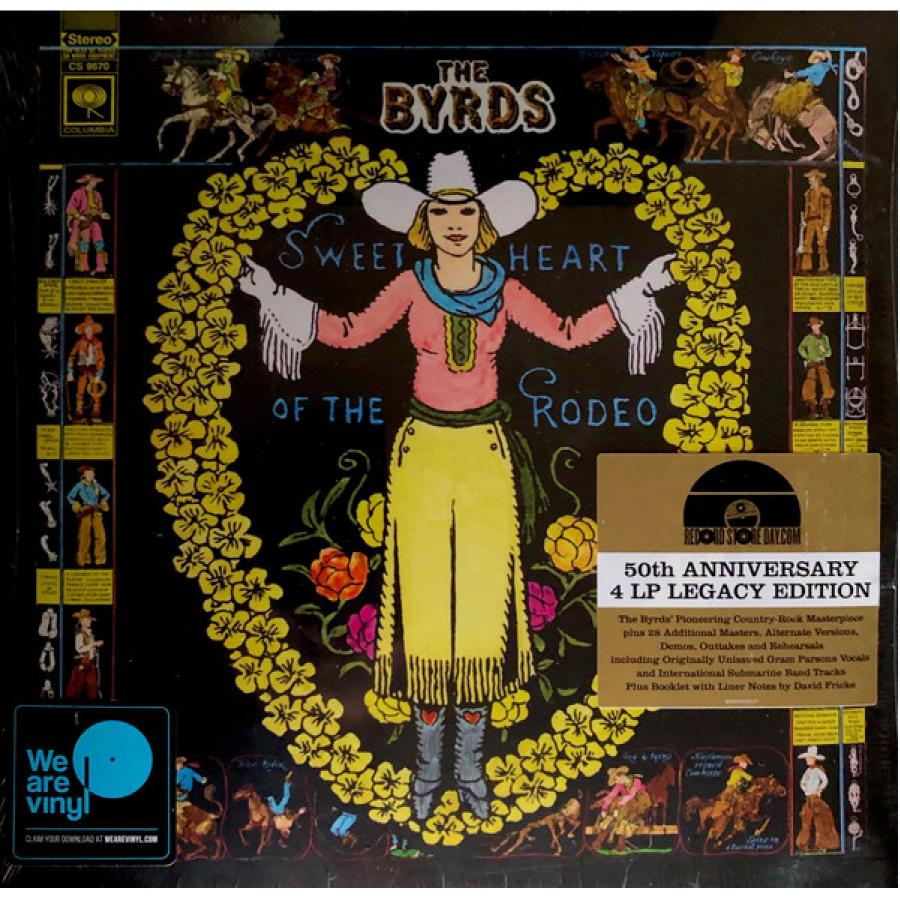Фото - Виниловая пластинка The Byrds, Sweetheart Of The Rodeo (Legacy Edition) виниловая пластинка the byrds sweetheart of the rodeo legacy edition