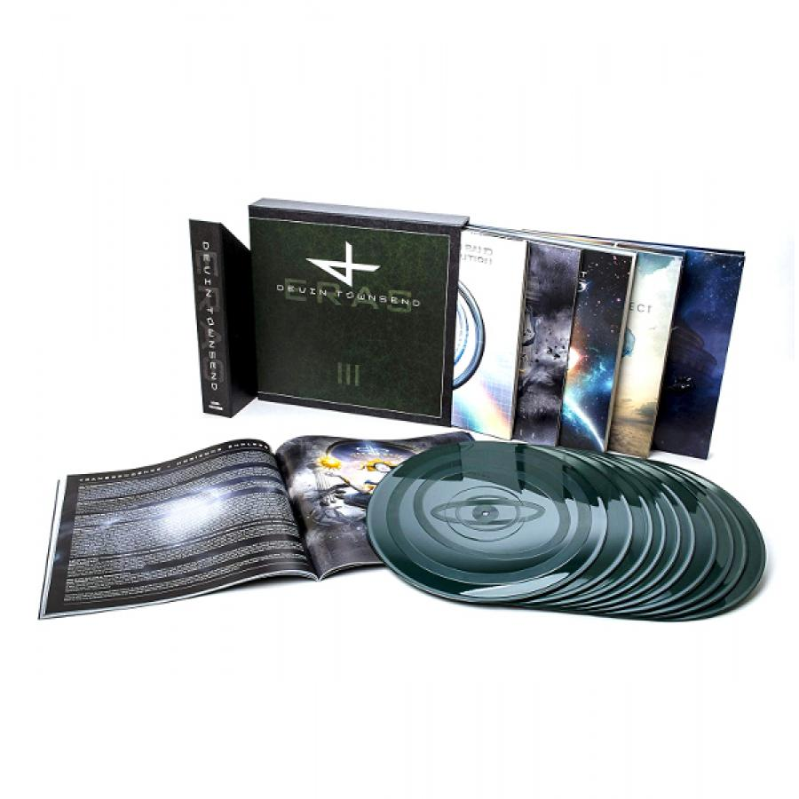 Виниловая пластинка Devin Townsend Project, Eras – Vinyl Collection Part Iii виниловая пластинка vinyl theatre origami