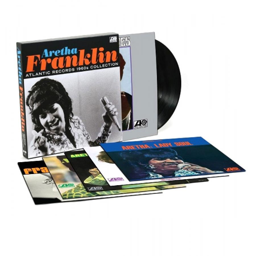 Виниловая пластинка Aretha Franklin, Atlantic Records 1960S Collection цена и фото