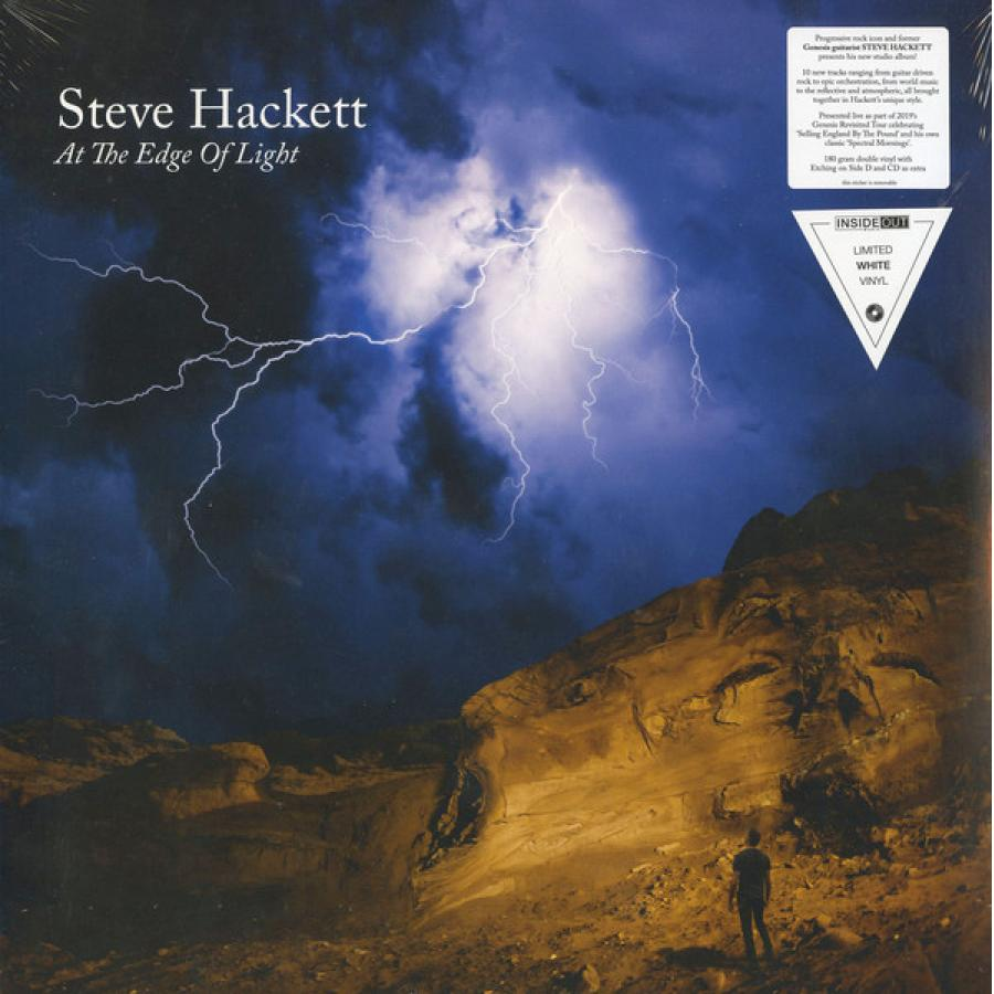 Виниловая пластинка Steve Hackett, At The Edge Of Light steve hackett steve hackett highly strung page 3