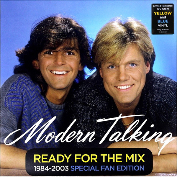 modern talking modern talking back for good the 7th album Виниловая пластинка Modern Talking, Ready For The Mix 1984-2003 Special Fan Edition (0194397048919)