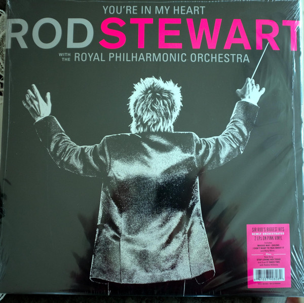 Фото - Виниловая пластинка Stewart, Rod, You'Re In My Heart: Rod Stewart With The Royal Philharmonic Orchestra (0081227908089) виниловая пластинка presley elvis royal philharmonic orchestra the if i can dream 0888751408418