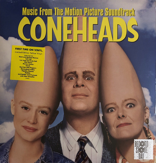 Виниловая пластинка Various Artists, Coneheads: Music From The Motion Picture Soundtrack (0093624903932) виниловая пластинка various artists howard stern private parts the album 0093624903895
