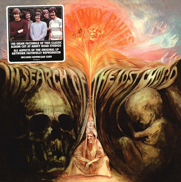 Виниловая пластинка The Moody Blues, In Search Of The Lost Chord (0602567226321) недорого