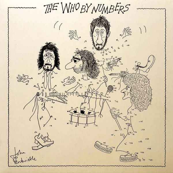 Фото - Виниловая пластинка The Who, The Who By Numbers (0602537156276) diy painting by numbers modern wall art picture by numbers paint by numbers for home decor w9261