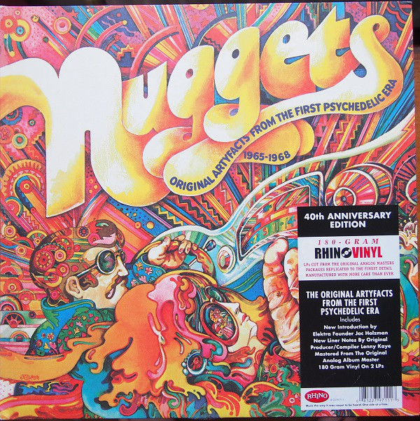 0081227971113, Виниловая Пластинка Various Artists, Nuggets: Original Artyfacts From The First Psychedelic Era 1965-1968